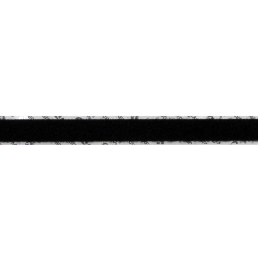 "1"" BLACK VELCRO® BRAND POLY LOOP - MARINE GRADE ADHESIVE"