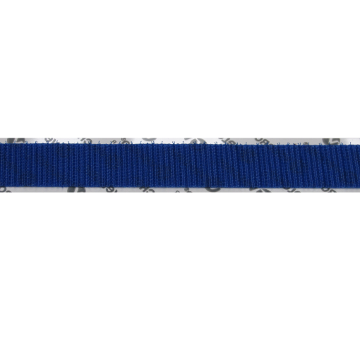 "1.5"" BLUE VELCRO® BRAND HOOK, ADHESIVE BACKED"