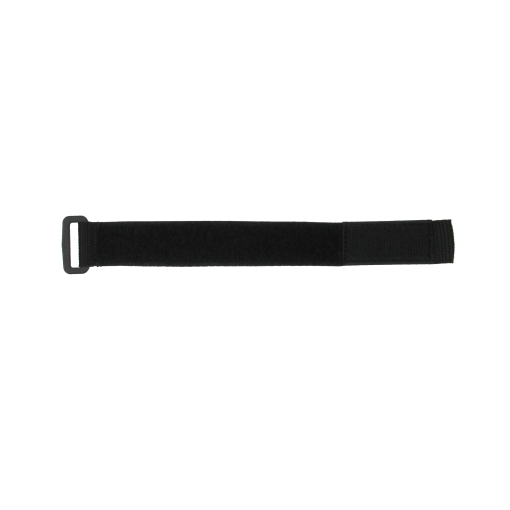 "1.5"" X 18 "" BLACK POLY WEB/VELCRO® BRAND STRAP"