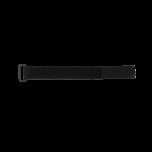 "1"" X 12"" BLACK POLY WEB/VELCRO® BRAND STRAP"