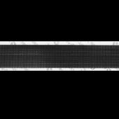 "1"" BLACK ULTRA-MATE® HOOK ADHESIVE BACKED"