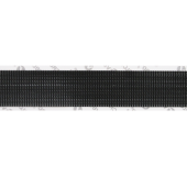 "3/4"" BLACK ULTRA-MATE® HOOK ADHESIVE BACKED"