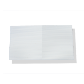 "3/4"" WHITE ULTRA-MATE® HOOK ADHESIVE BACKED"
